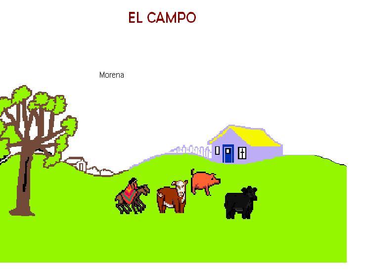 Campo y ciudad para colorear - Imagui