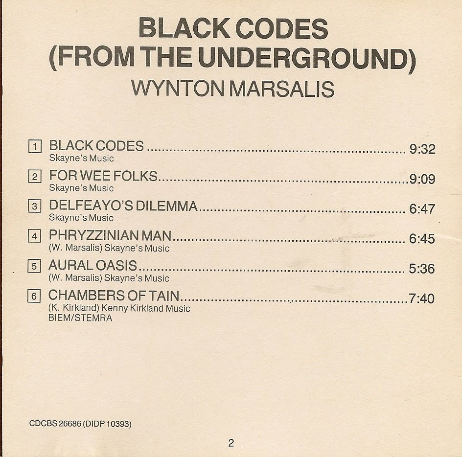 Black codes from the underground