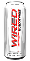 Wired Low Carb Sugar Free Energy Drink