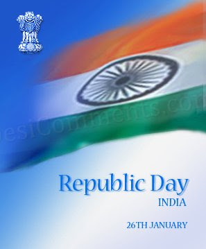 Republic Day information, SMS, Flag.