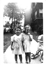 Me - about 5 yrs old (right)