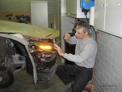 Como restaurar un coche viejo