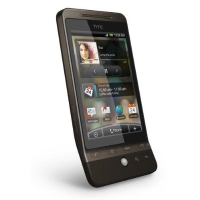 HTC Android A6262 Smartphone Unlocked HTC Hero Android G3 A6262 Smartphone Unlocked   International Version with No U.S. Warranty Mocha (Brown)