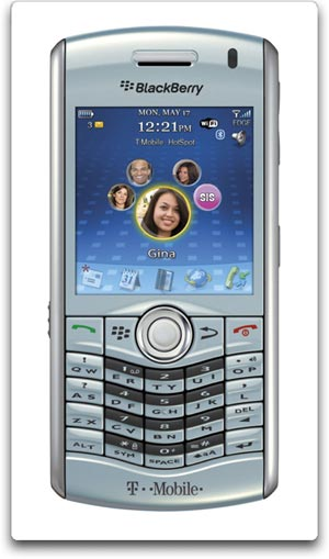 BlackBerry Pearl 8120 Phone T Mobile BlackBerry Pearl 8120 Phone, Frost (T Mobile)