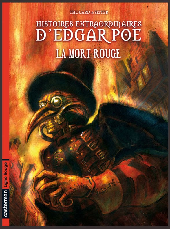 """Histoires extraordinaires d'Edgar Poe"" en BD Couv1"