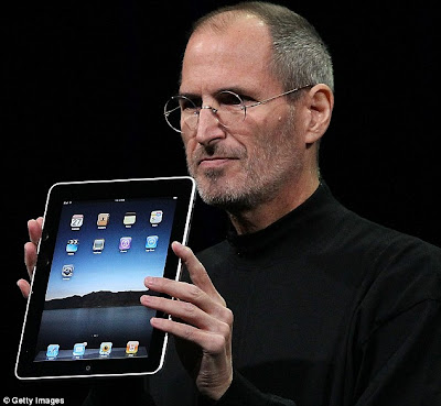 Revolution: Apple chief executive Officer Steve Jobs unveils the company's