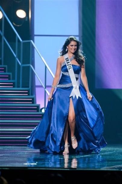 Miss Universe 2010 contestants, evening gowns, Aug. 19, 2010. (Part ...