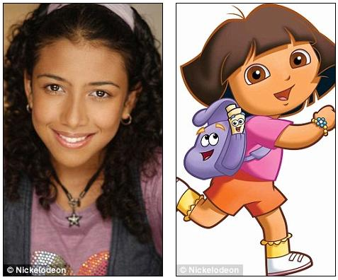 A teenager who is the voice of the heroine of Nickelodeon's Dora The ...