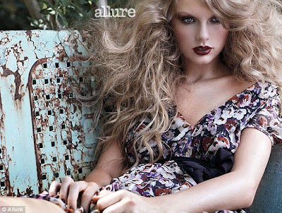 Taylor Swift Haunted Dress. Cover girl: Taylor Swift is