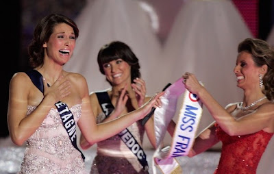 France  on Of The Miss France Company  R  On December 4  2010 In Caen  France