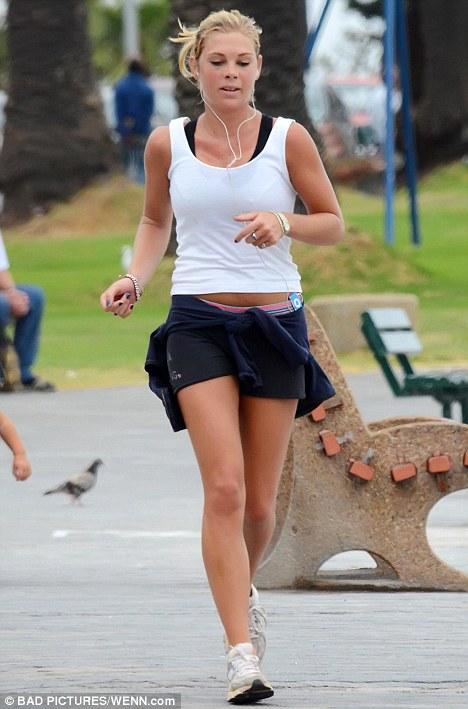 jogging heard music