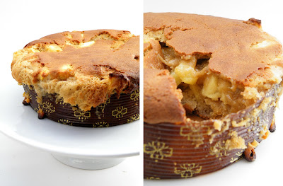 Dulce de leche Apple Cake with Browned Butter Icing