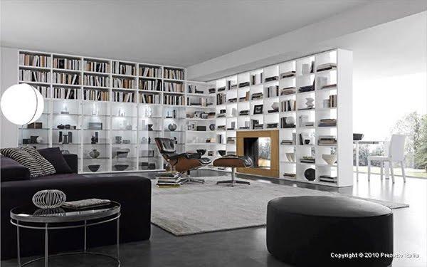Sala De Tv Biblioteca