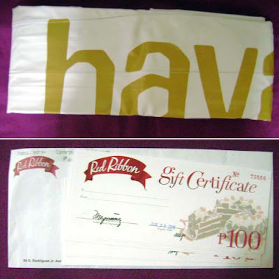 havaianas flipfloats red ribbon