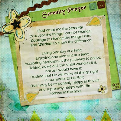 woman serenity prayer