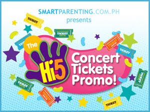 hi5 concert ticket promo