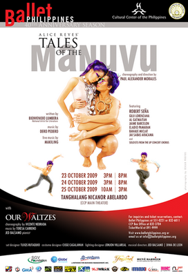 ballet Philipplines CCP Tales of Manuvu