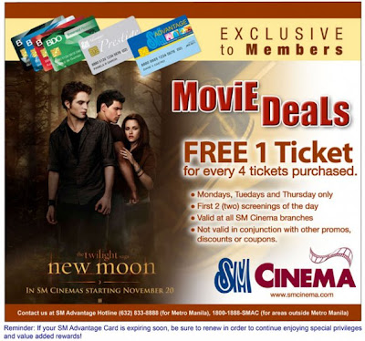 new moon promo sm cinema
