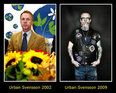 Partisekreterare Urban Svenson i förvandling