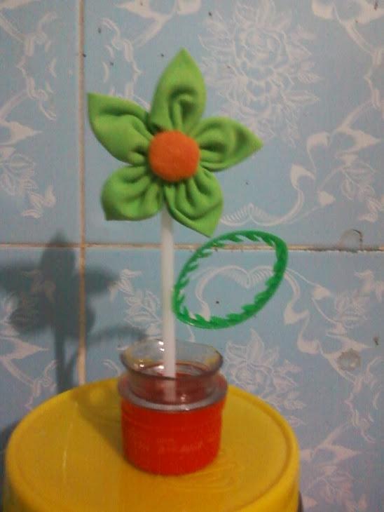 flor verdinha