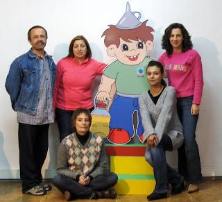 A Equipa do CRE de Chamusca- 2008