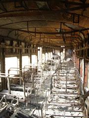 Interior de Coche, incendiado