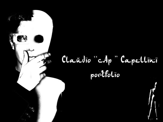 """Claudio """"Cap"""" Capellini portfolio blog"""