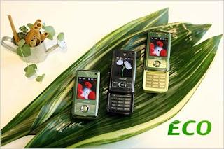 Samsung Corn Plastic Environment-Friendly Mobile Phones