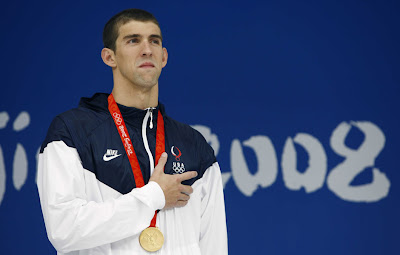Mike Phelps make history