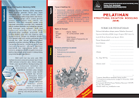 The brochure design of SEM trainging 2