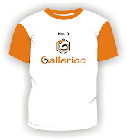 the t-shirt design of gallerico with corel draw 1