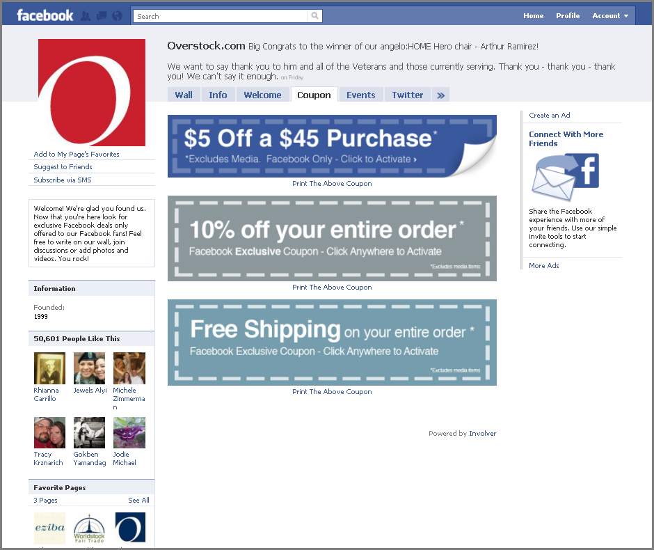 Overstock com coupon codes