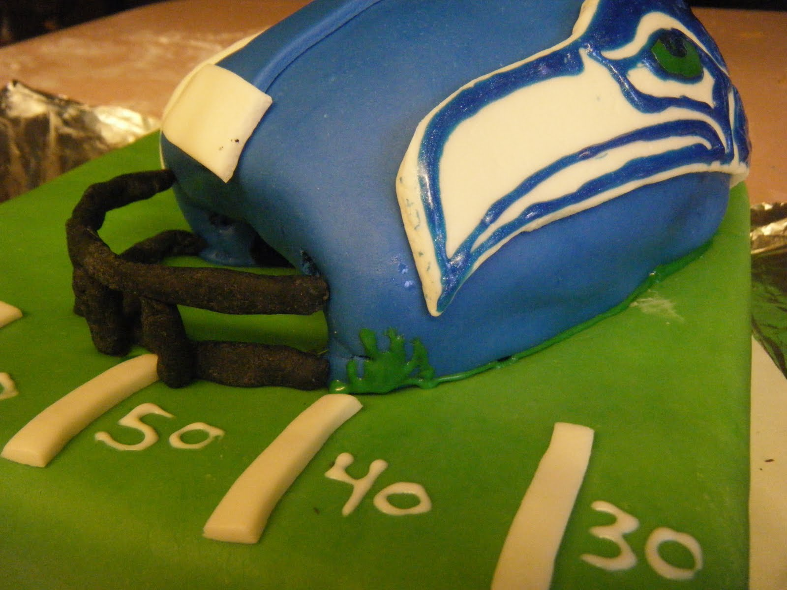 Circus Cakes Seattle Seahawks