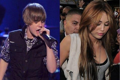 Justin Bieber y Miley Cyrus en el Madison Square Garden Justin_Bieber_Miley_Cyrus