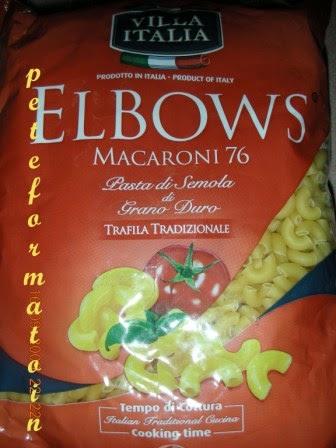 ... Elbows Macaroni with Fried Wantan (Fried Sui Kow, Chinese Dumplings