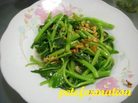 Veganformation vegetarian food cooking adventure simple vegetarian simple vegetarian chinese style stir fried spinach recipe forumfinder Images