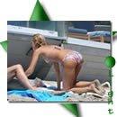 Jessica Alba arrasa <br>em bikini