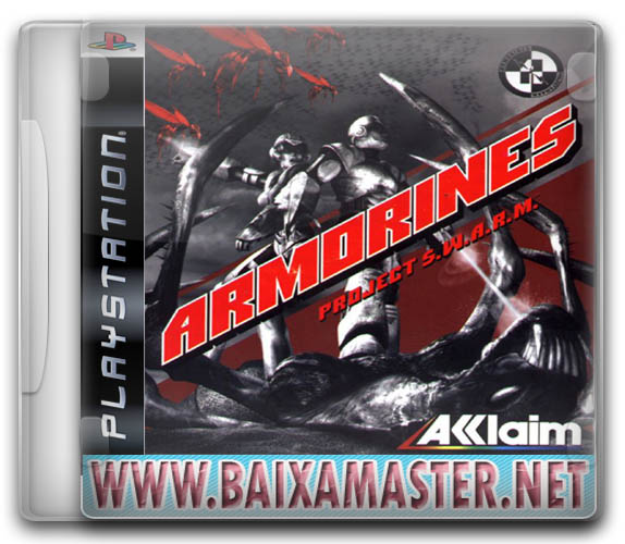 download Armorines: Project S.W.A.R.M. PS1