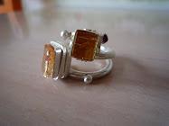 Ring Silber925/Imperialtopas