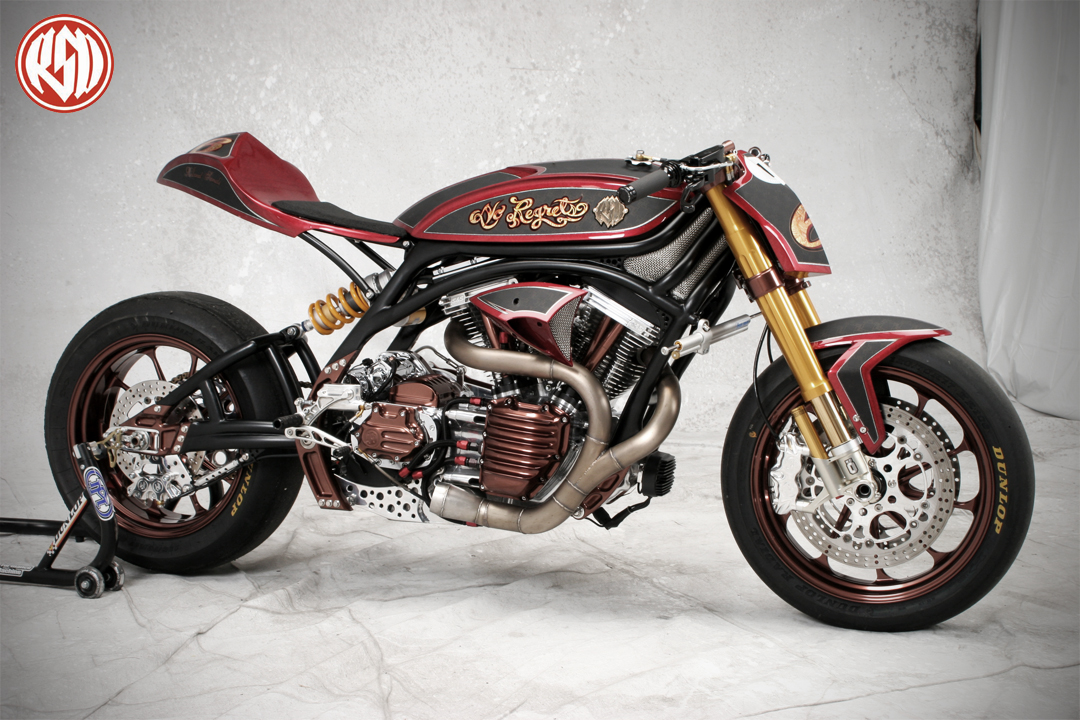 Roland sands no regrets bike