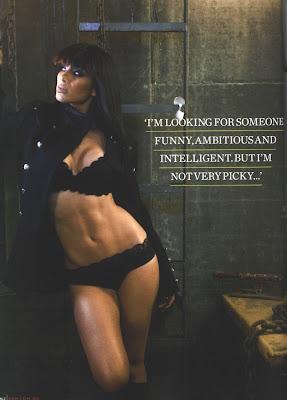 Pumpitup's Female Muscle: Nicole Scherzinger has fine sexy abs
