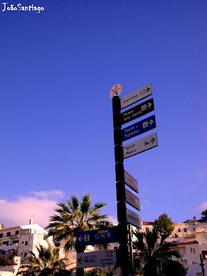 policia placas direçao albufeira praia algarve allgarve museu palmeiras