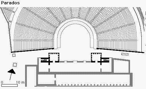 Planta Baixa de Teatro Greco-Romano