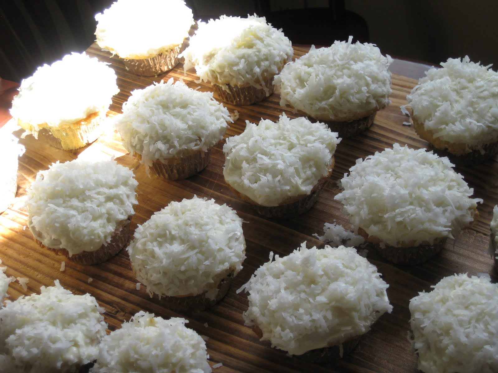 Coconut Cupcakes From Scratch