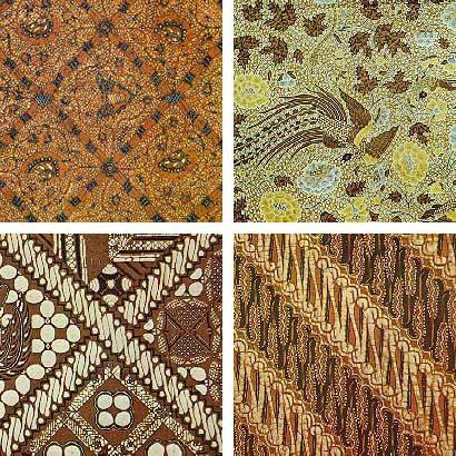 Indonesia Batik Pattern