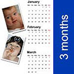psd template calendar 2010-simple 3 months