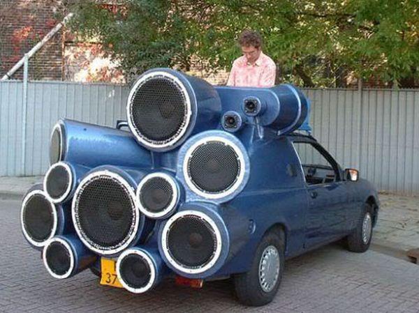 DAMN FUN GALLERIES: Crazy Car Mods