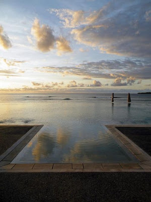 Intercontinental Hotel - pool in Fiji