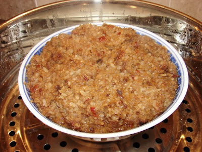 Beef for steaming in basket