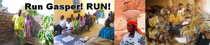 Run Gasper!  RUN!